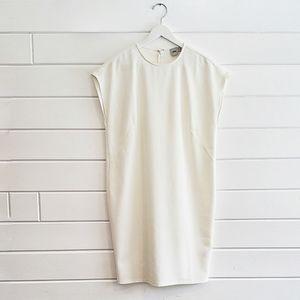 ASOS | white shift dress